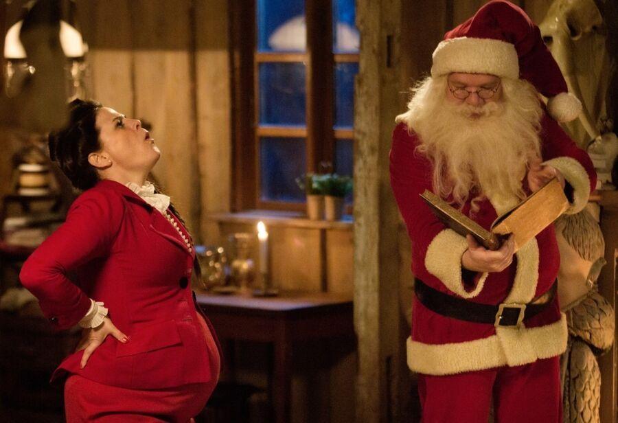 Stilbillede fra filmen Emma og julemanden