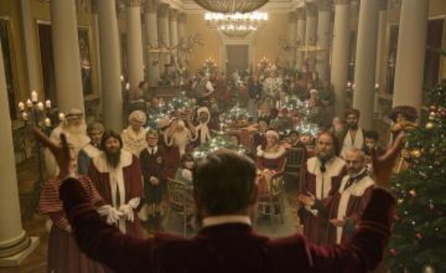 Stilbillede fra filmen Julemandens datter