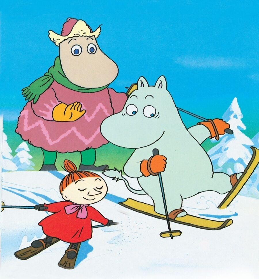 Stilbillede fra Jul i Mumidalen filmen