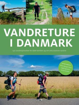Torben Gang Rasmussen: Den store bog om vandreture i Danmark