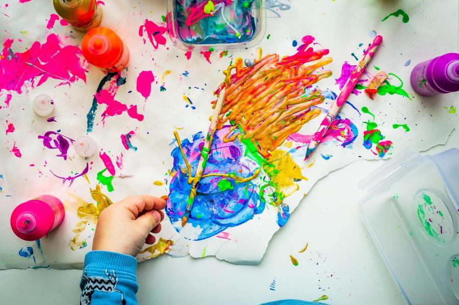 Kreativ sommersjov for børn