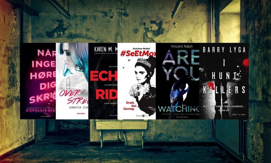 6 bøger til unge krimifans