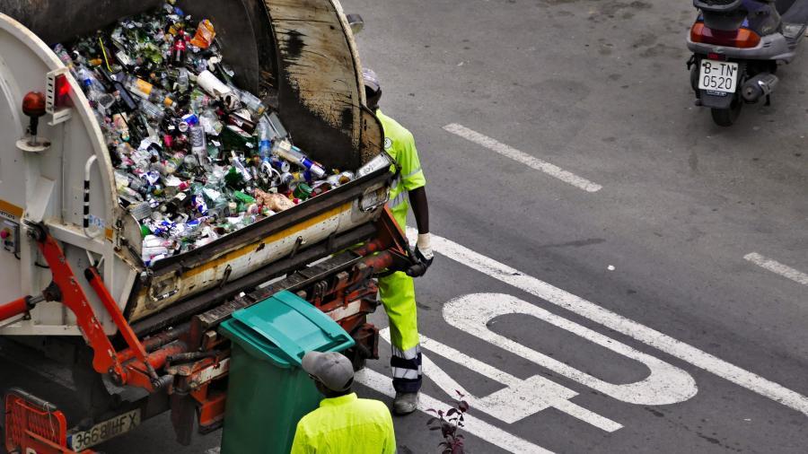 flasker til genbrug og skraldemænd