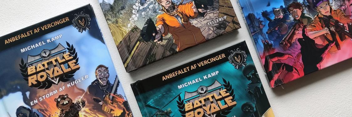 de fire bøger i Battle Royale serien
